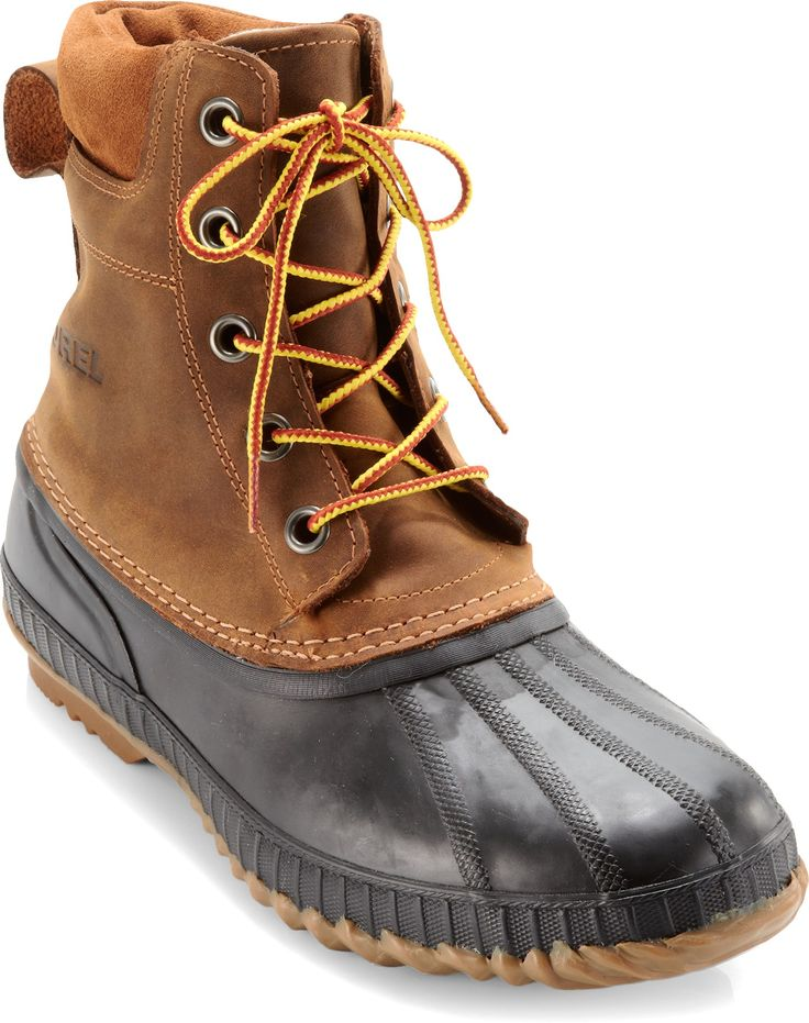 These Sorel boots are both stylish and functional. Keep dry, warm and looking fly, all at the same time. #endorsed