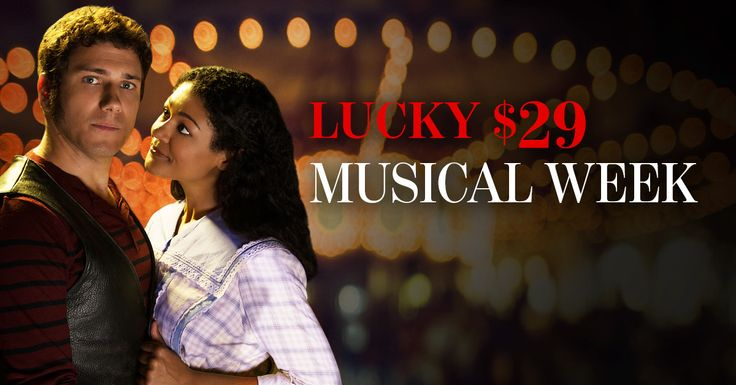Lucky $29 Musical Week starts TODAY! From now until April 21, enjoy $29 tickets to ‪#‎sfSoundofMusic‬ and ‪#‎sfCarousel‬. This lucky deal sold out quickly last season, so don't delay - order today and save up to $79 on A seats!