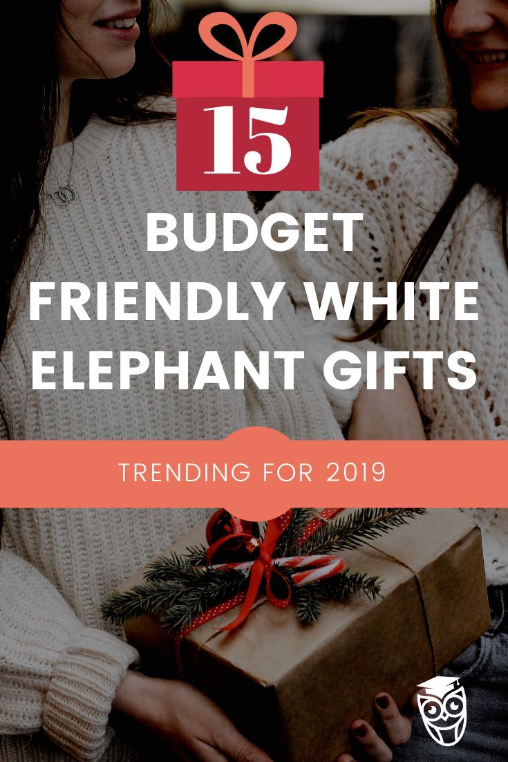 Great Gift Ideas On A Student Budget College Life Today White Elephant Gifts Elephant Gifts Trending Gifts
