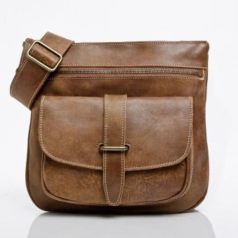 My New Handbag! I love Roots Canada Side Saddle in Tribe Leather with Brass Hardware | Roots Original flat bags | Roots