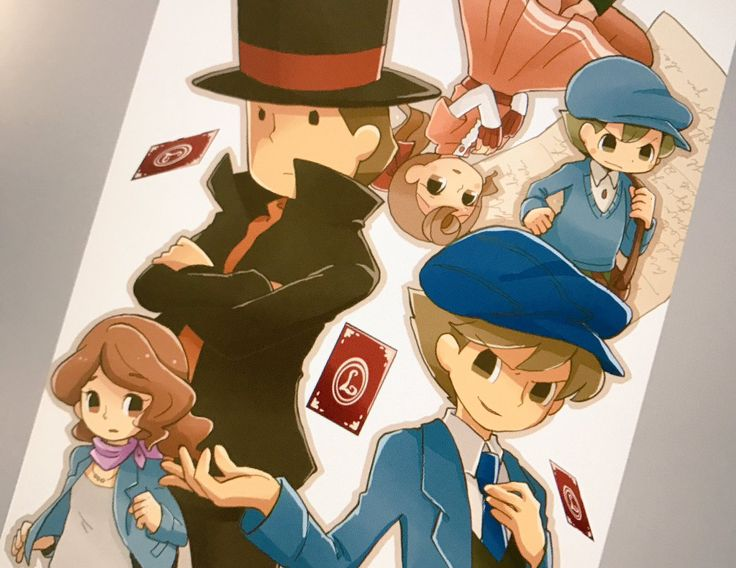 958 Best Images About Professor Layton On Pinterest A