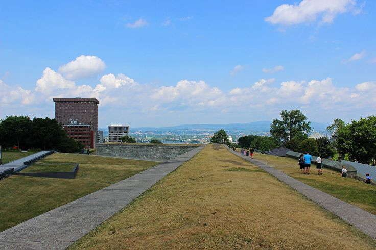 Quebec portes fortifications | We continued our walk along the walls, taking in the city views. Some ...
