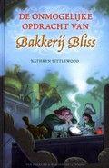 Kathryn Littlewood / De onmogelijke opdracht van Bakkerij Bliss  Sinds Roos (12) de belangrijkste bakwedstrijd ter wereld heeft gewonnen, is ze beroemd. Maar dan wordt ze ontvoerd door bakkerij Meestes. Directeur Boter wil dat Roos magische koekjes gaat bakken die verslavend zijn. Vanaf ca. 10 jaar.