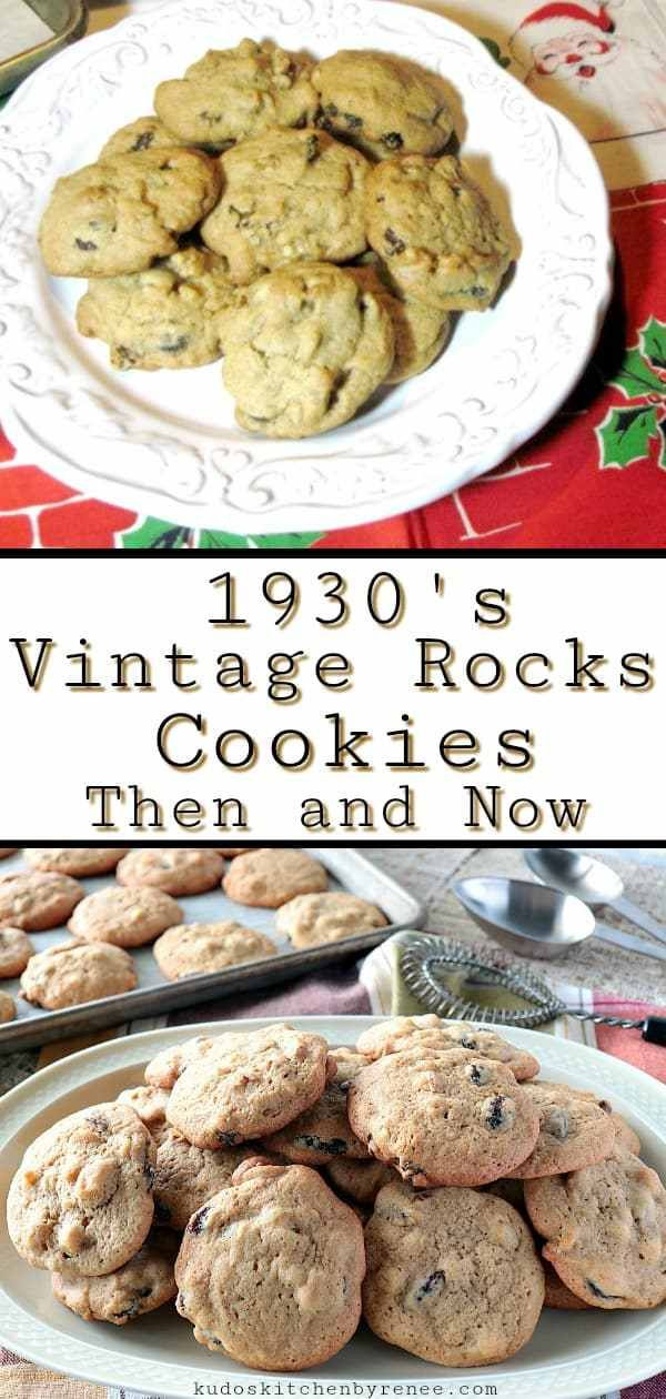 this vintage cookie recipe dates back to the 1930 s vintage rocks cookies are fast and easy to make and don t require any special equipment