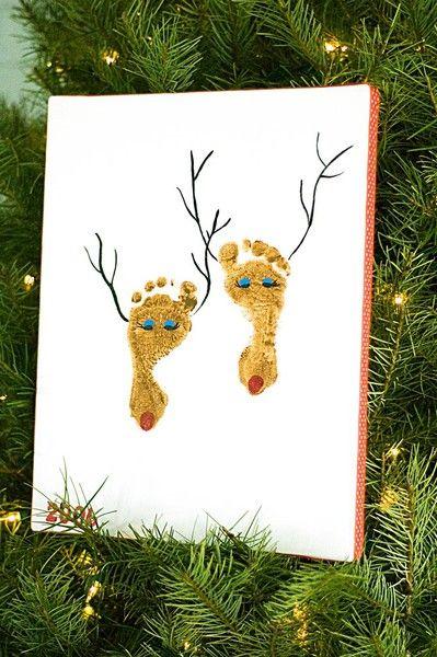 Such a cute Christmas craft idea!