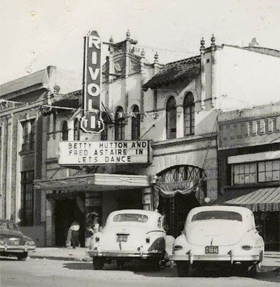 houston texas 1940s movie theater was at the center
