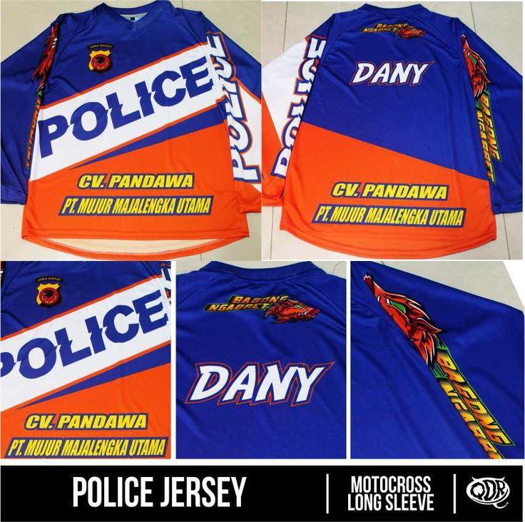 Motocross Jersey Police