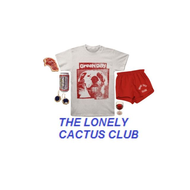 """LCC (lonely cactus club)"" by grumpy-hellcat ❤ liked on Polyvore featuring Jade Jagger"