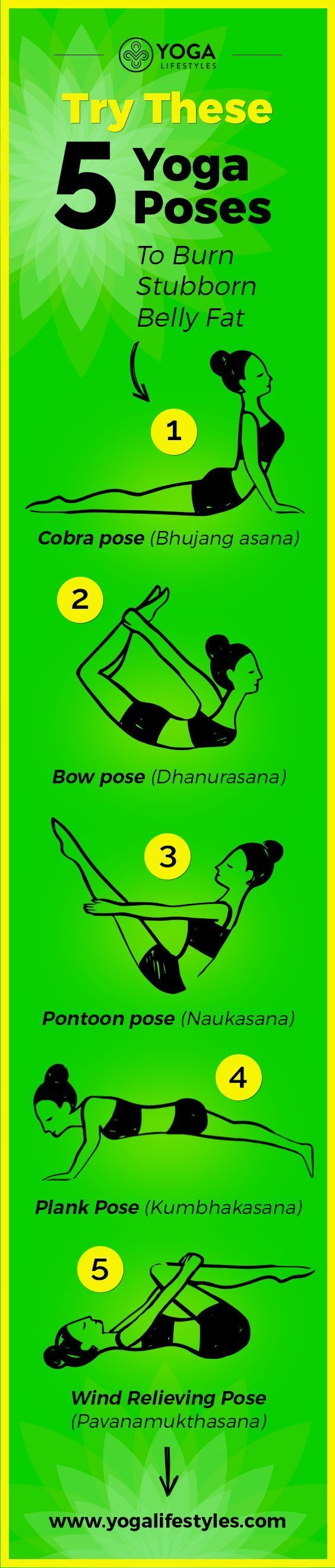 Try These 5 Yoga Poses To Burn Stubborn Belly Fat