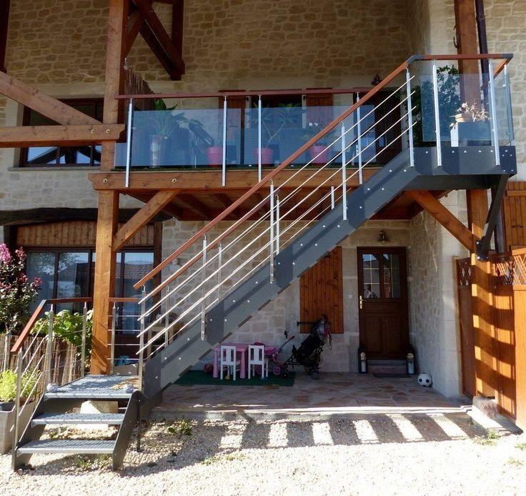 8 best Escalier extérieur images on Pinterest External staircase