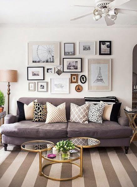 Cómo combinar cojines en casa   Decorar tu casa es facilisimo.com