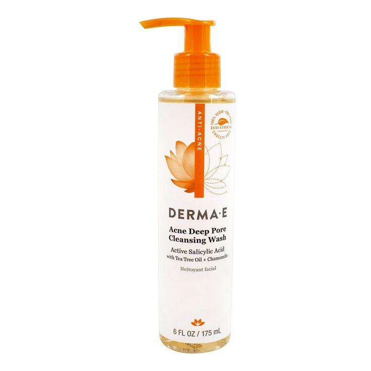 DERMA-E – Acne Deep Pore Cleansing Wash – 6 fl. oz.