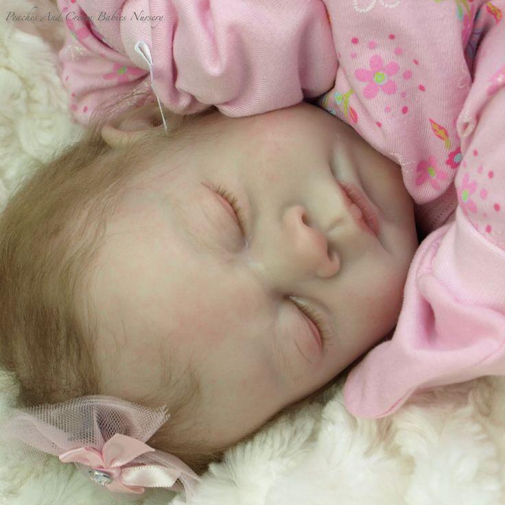 Peaches And Cream Babies Reborn Doll Nursery