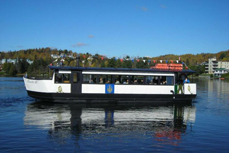 """Lake cruise Mont Tremblant aboard """"The Grand Manitou"""". Listen to the history and stories of Mont Tremblant during your 70 minute cruise.  Create memories of a lifetime in our exquisitely decorated, fully equipped resort home. Check Availability Now for Mont Tremblant Holiday Condo http://tremblantholiday.com/airbnb"""