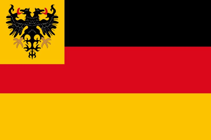 War ensign of the German Empire Navy 1848-1852 - Bandeira da Alemanha – Wikipédia, a enciclopédia livre