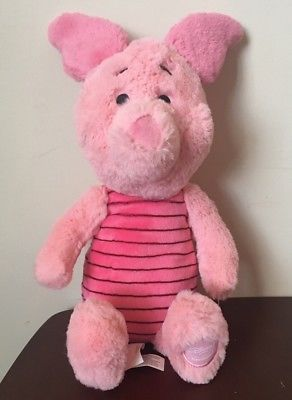 Piglet Winnie The Pooh Disney Store Exclusive 16 Plush Stuffed