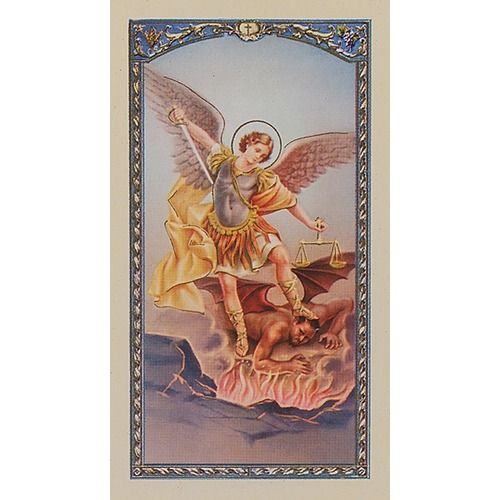 St. Michael Archangel - Prayer Card
