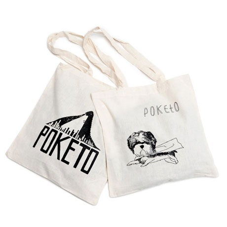 POKETO Canvas Totes (one of my fave product sites)