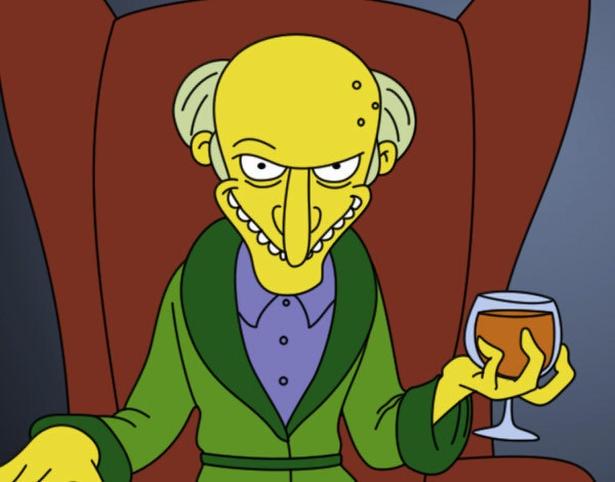 U.S. election: The Simpsons' Mr. Burns endorses Mitt Romney - thestar.com
