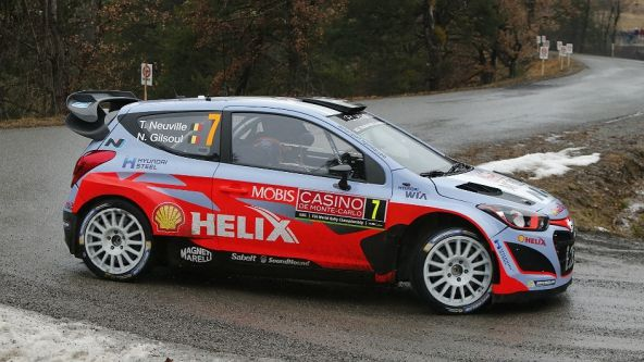 Hyundai i20 World Rally Car