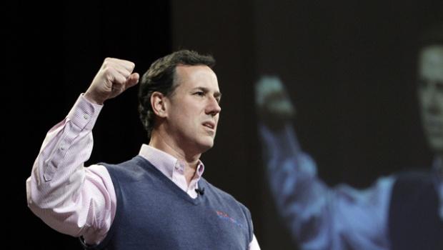 Santorum: synonyms - dumbass, idiot, fucktard