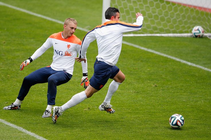 Jasper Cillessen Photos: Netherlands Training