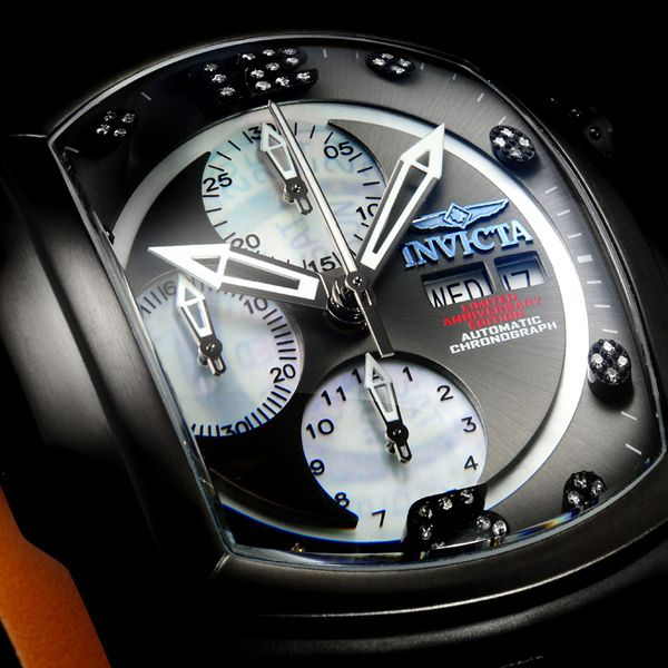 Invicta Mens Watch Lupah Revolution Chronograph 0513