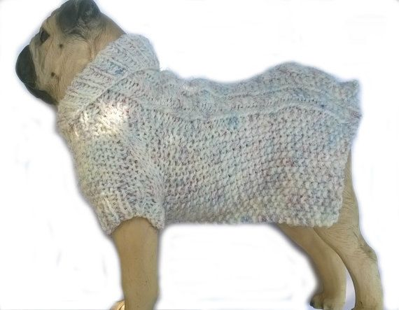 Puppy clothes, Outstanding Cable Knit Small Dog coat, Chihuahua clothing, Pup Clothing, Small dog clothes, Knitted Dog sweater, XS dog coat