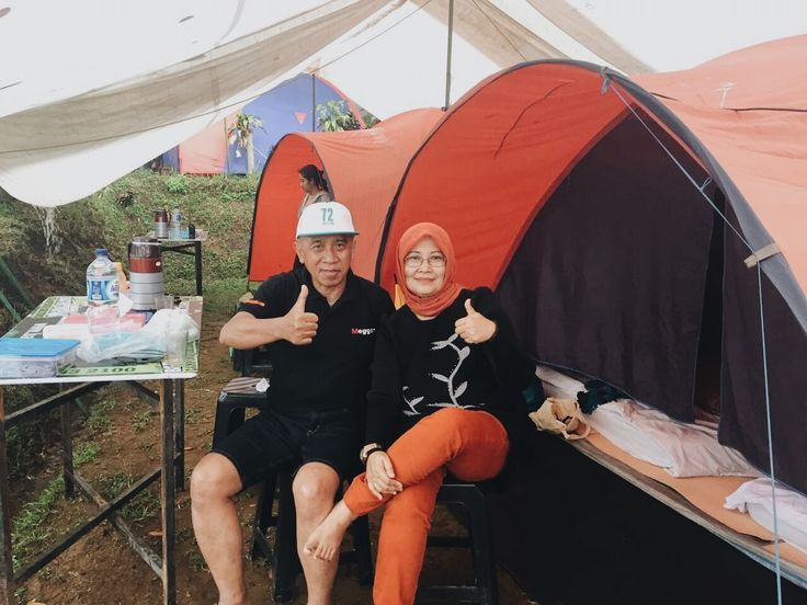 Parents going camping