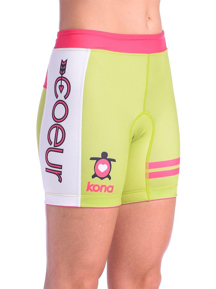 Women's Triathlon Shorts in Kona Design  #triathlon #workout #running #sports