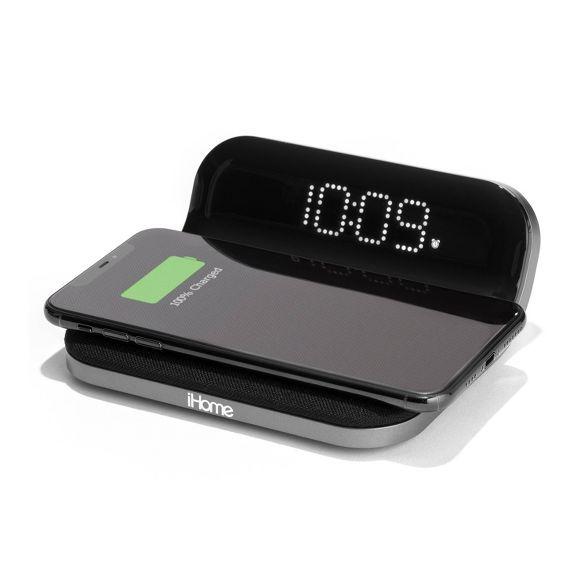 Light Alarm Clock, Clock Display, Wireless Charging Pad, Led Night Light, Home Office Design, Digital Alarm Clock, Usb, Dorm