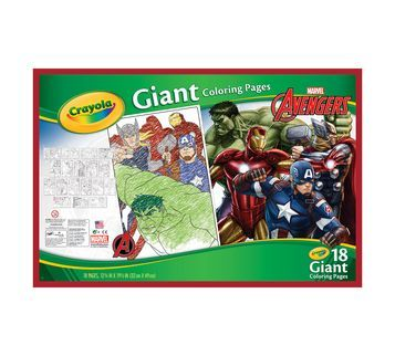 Giant Coloring Pages, Avengers Assemble | Coloring books ...