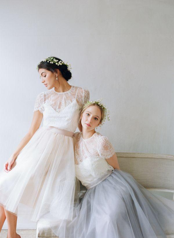 Alexandra Grecco Tulle Skirt and Elliot Blouse