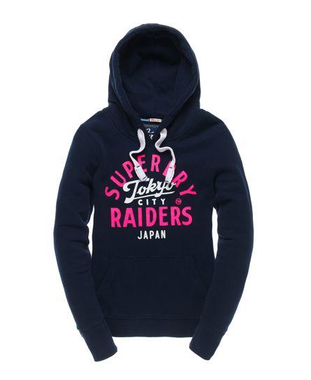 Superdry Tokyo Raiders Hoodie - Women's Hoodies