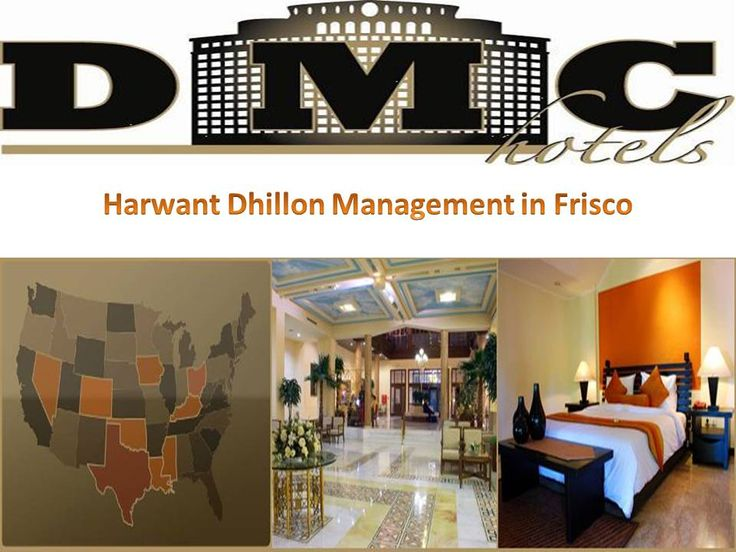 Harminder Dhillon, an incredible advantage for the organization, administers the administration of Dhillon #Management Inc's. Whole arrangement of 12 lodgings. Through his devotion and administration, #DMC #Hotels is perceived as one of the quickest developing inn administration organizations in the business.