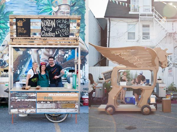 extravagant design of food carts from the 2015 event