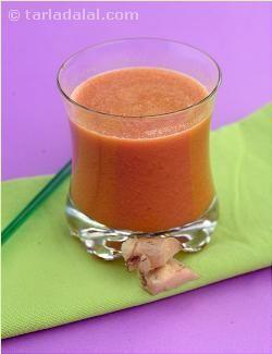 Carrot, apple & ginger