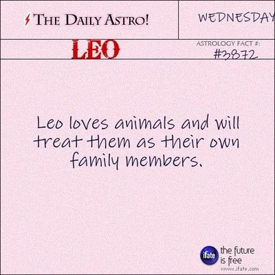Leo 3872: Visit The Daily Astro for more Leo facts...and click here for the webs best horoscopes!
