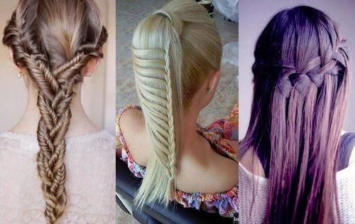 Unique hairstyles - especially like the one on the left!