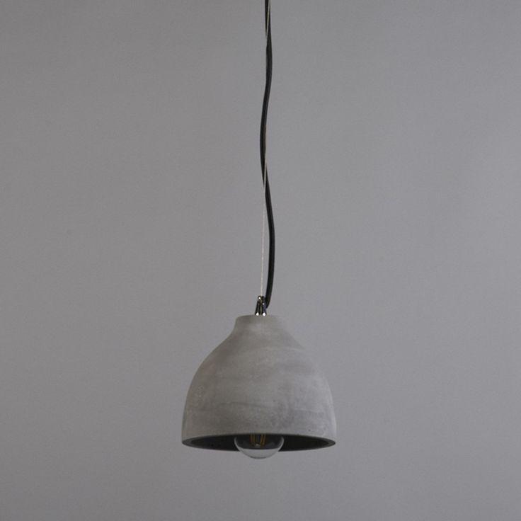 Lampa wiszaca Campana beton