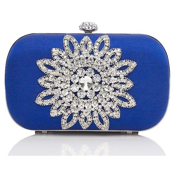 Jewel Metallic Hard Case Clutch ... forevernew
