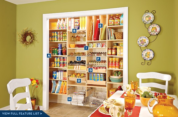 56 Useful Kitchen Storage Ideas: 56 Best Organized Pantries Images On Pinterest