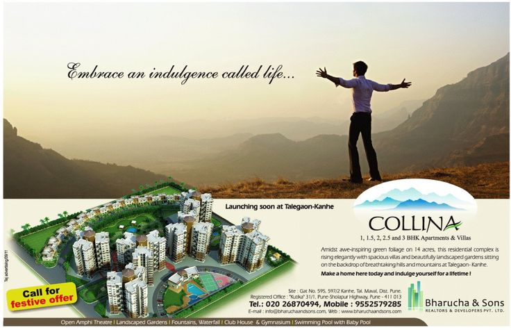 Ravi Karandeekar's Pune Real Estate Advertising and Marketing Blog: Collina, Kanhe, near Talegaon, Pune