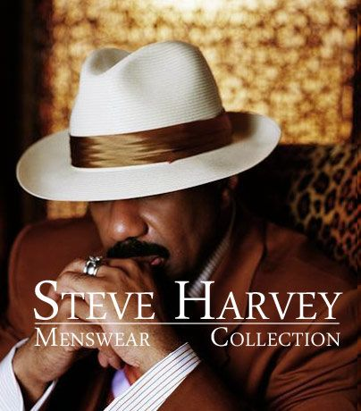Steve Harvey Menswear Collection found at Beverly Hills Man.com
