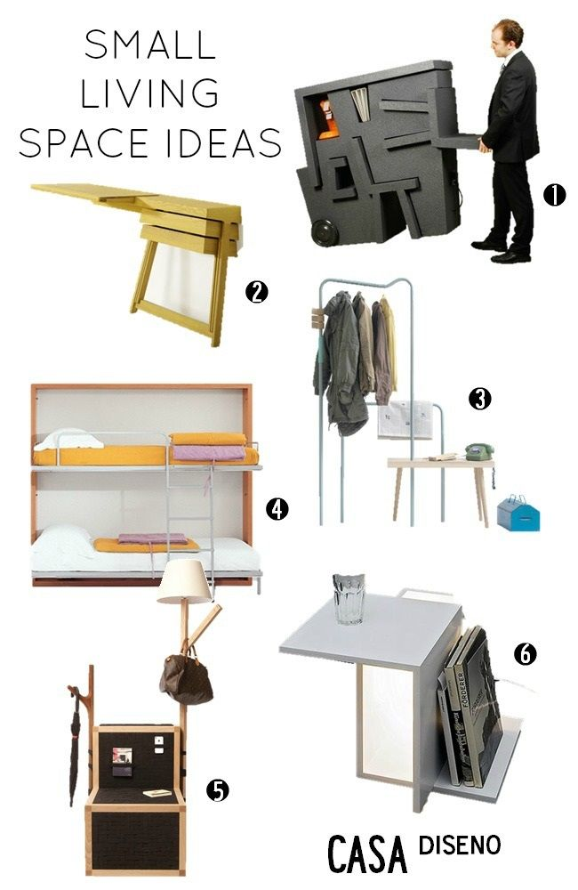 36 best Practical, Space Saving or Double Duty Furnishings images on ...