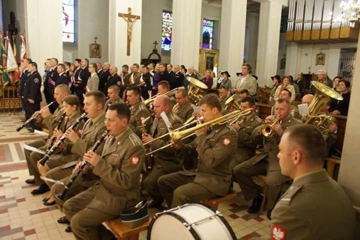 Uroczystości kościelne w dniu 22 kwietnia 2014 roku.