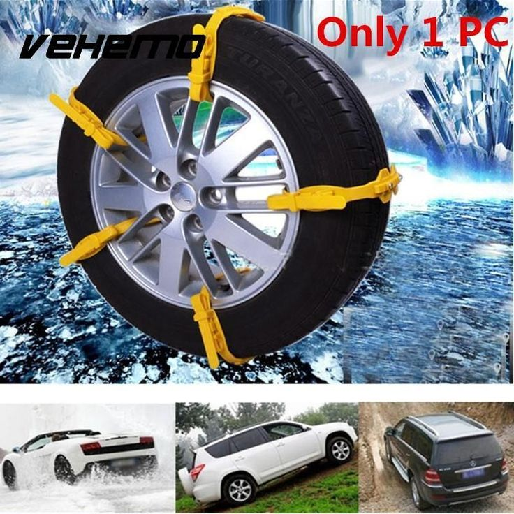 1PC Car Winter Tyres Wheels Snow Chains For Cars/Suv Car-Styling Anti-Skid Chains