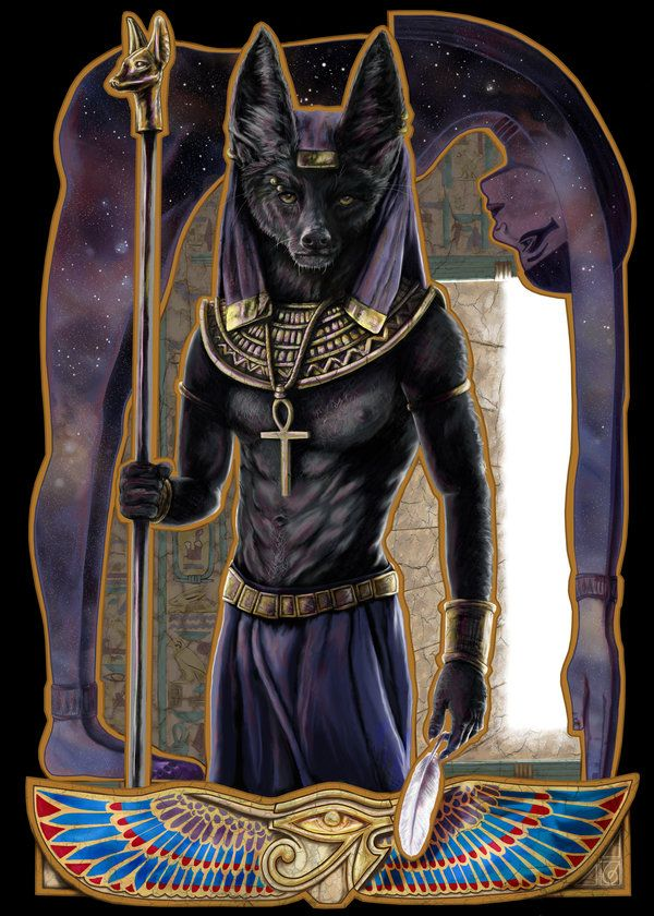 In Egyptian mythology, when a person died, Anubis would weigh their soul against a feather. If the soul was lighter than the feather, then it would be sent to Osiris (good afterlife); if the soul was heavier than the feather, it would be punished.