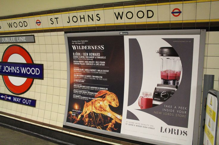 Have you seen us in St John's Wood Station? Featuring one of our mega blenders, the Pro750 Vitamix!  We can't wait to welcome you to our beautiful new store in St John's Wood on Saturday 13th June at 9.00 am. #underground #tubeads #advertising #vitamix #pro750