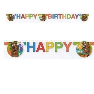 Scooby Doo Jointed Banner